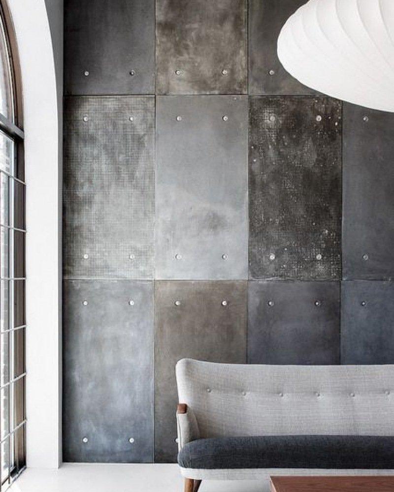 Houten muur ideeen - Wanddecoratie badkamertegels ...