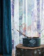 Instant luxe met rijke, glanzende zijde look gordijnen | MrWoon | Mrwoon