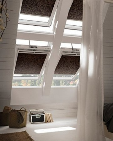 raamdecoratie schuine ramen kiepdraairaam zolder met easyclick