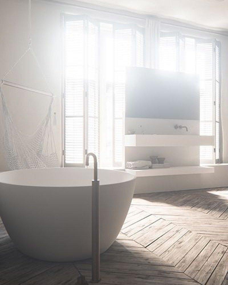 pvblik schuin dak idee badkamer
