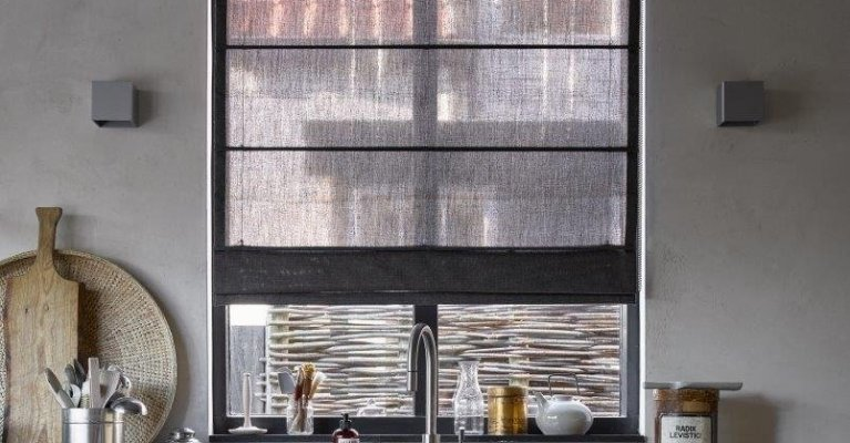 Raamdecoratie keuken mrwoon