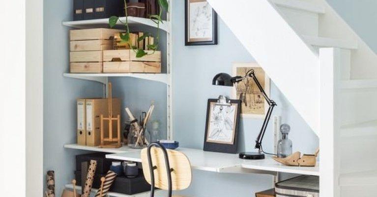 Creatieve ruimte onder de trap mrwoon