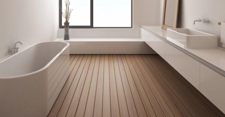 Teak Vloer Badkamer : Vloeren voor in de badkamer mrwoon