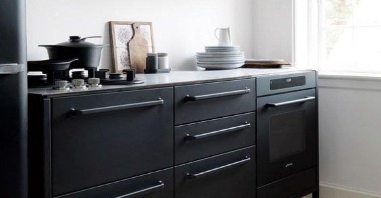 Keuken Van Vipp : Kleur in de keuken ga voor zwart in je interieur mrwoon