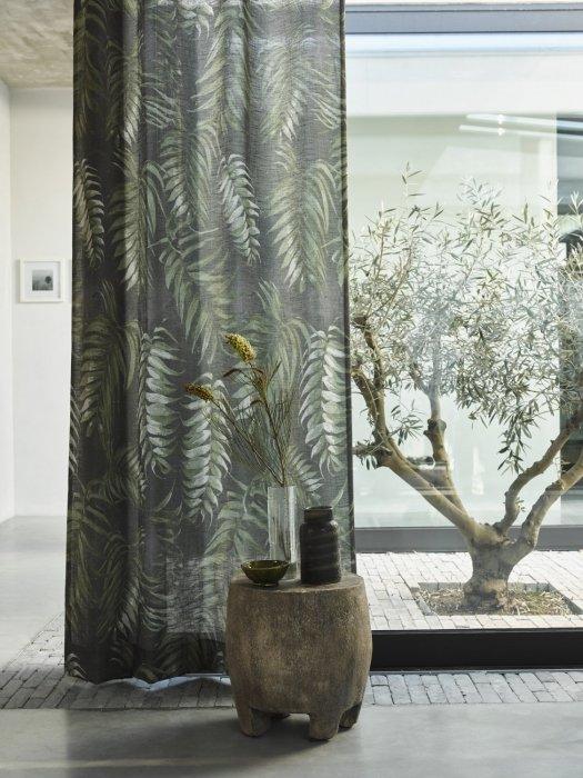 Gordijnen met botanische prints | Mrwoon