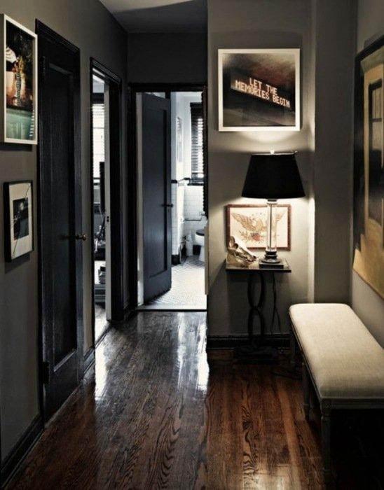 Het optische effect van een donkere vloer | Mrwoon