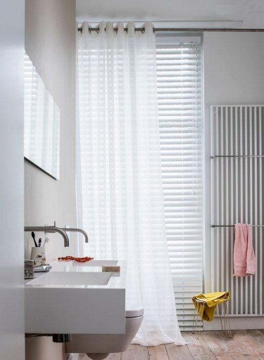 Raamdecoratie in de badkamer | Mrwoon