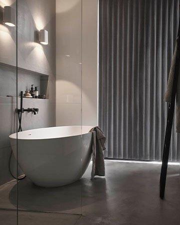 Privacy In De Badkamer Met Vochtbestendige Raamdecoratie Mrwoon