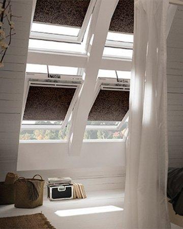 Gordijnen voor schuine ramen | Mrwoon